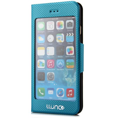 LLUNC 4.7 inch Caller ID Display Case Leather Cover for iPhone 6iPhone Cases/Covers<br>LLUNC 4.7 inch Caller ID Display Case Leather Cover for iPhone 6<br><br>For: Mobile phone<br>Compatible for Apple: iPhone 6<br>Features: Full Body Cases, Cases with Stand<br>Material: PU Leather, Plastic<br>Style: Special Design<br>Color: Black, White, Green, Plum<br>Product weight : 42g<br>Package weight : 0.125 kg<br>Product size (L x W x H): 13.9 x 7.2 x 1.2 cm / 5.5 x 2.8 x 0.5 inches<br>Package size (L x W x H) : 21 x 10.1 x 2.2 cm<br>Package contents: 1 x Case