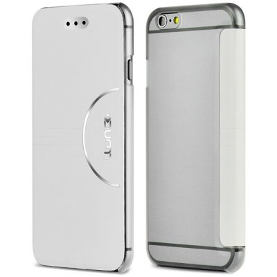 LLUNC 4.7 inch Simple Elegant Case Cover with PC PU Material for iPhone 6