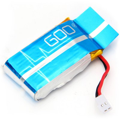 Гаджет   3.7V 600mAh Rechargeable Lithium Battery with USB Charging Cable for RC Copter Helicopter Accessories Aircraft Quadcopter Supplies  -  5 PCs RC Helicopter Parts