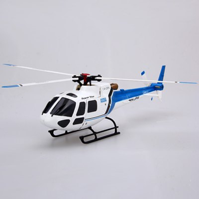 WLtoys V931 Power Star X1 2.4GHz 6 CH 3D / 6G No - aileron RC Micro Helicopter Aircraft with Brushless and Non - aileron Design