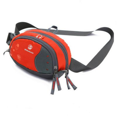 Fashionable Nylon Waist Bag Outdoor Activities Pocket Pack Travel Camping Cycling Hiking Accessories