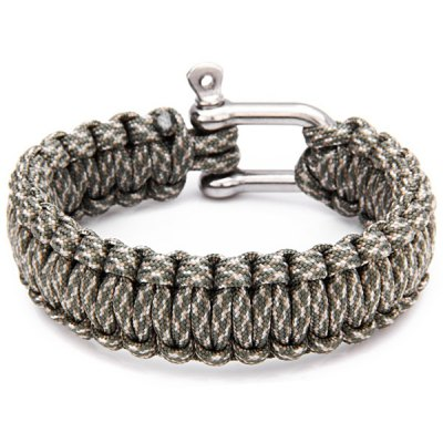 Survival Bracelets with Stainless Steel Clasp