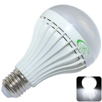 E27 9W 800 Lumens 30 x SMD 2835 White Light LED Light High Power Ball Bulb