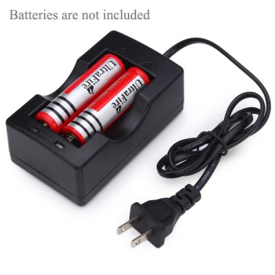 TangsFire 2 Slots 18650 Lithium Ion Battery Charger for Flashlight Torch (US Plug) от GearBest.com INT