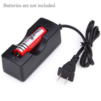 TangsFire 1 Independent Slot Li - ion 18650 Battery Charger  -  US Adapter от GearBest.com INT