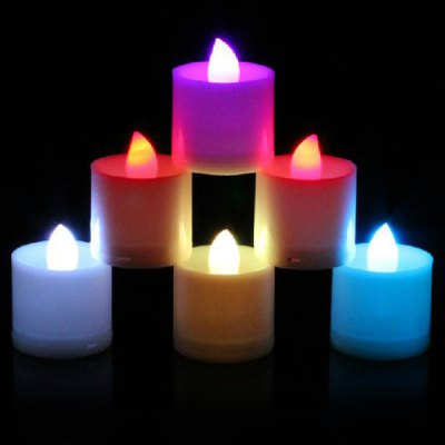 4Pcs Romantic LED Electronic Candle Christmas Decors