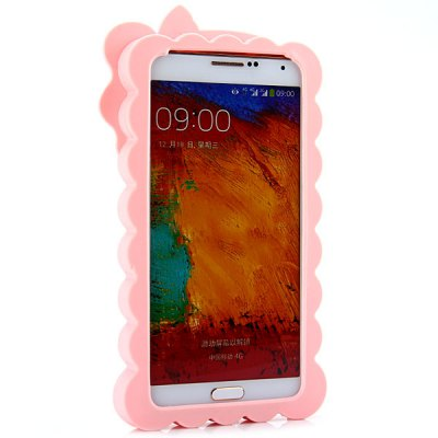 ФОТО High Quality Xiao Xi in Bib Pants Pattern Design Silicone Material Back Cover Case for Samsung Galaxy Note 3 N9000