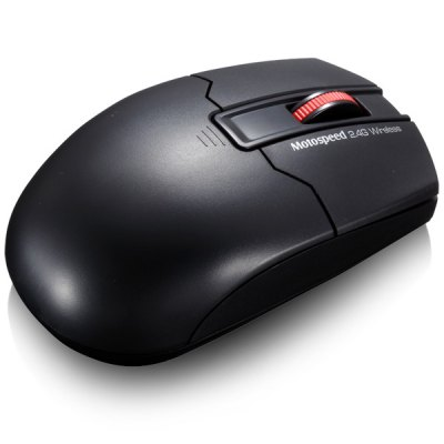 Motospeed G310 Ultra Slim 2.4GHz 3 Buttons 1200DPI Wireless Optical Mouse Support Windows Mac Linux