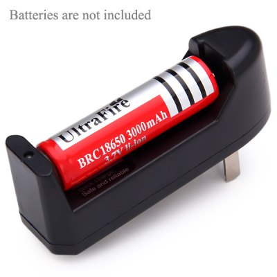 1 Slot Lithium Ion 3.7V Battery Charger with Automatic Recognition Function - US Adapter