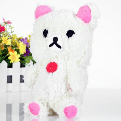 ФОТО High Quality Bear Design Plush Material Back Cover Case for Samsung Galaxy Note 3 N9000