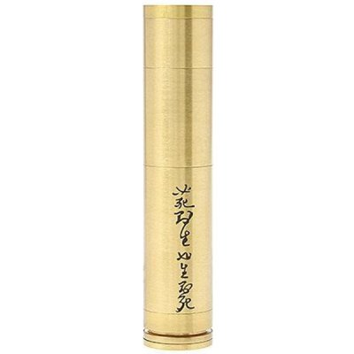 ФОТО Turtle Ship Style Electronic Cigarette Brass 510 Thread Mechanical Mod by 18350 / 18500 / 18650 Battery