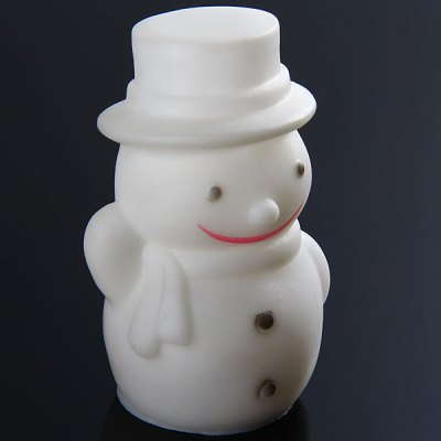 Snowman with Changing Colors LED Light Christmas Decoration
