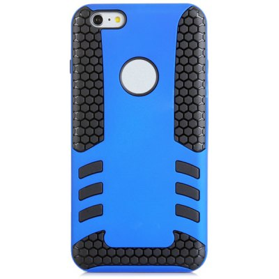 PC and TPU Back Cover Case for iPhone 6 Plus - 5.5 inches