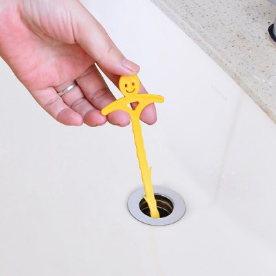 Muricated Hook Outfall Pipe Cleaning Machine Sewer Drains Household Wash Basin Cleaner