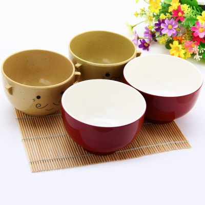 Гаджет   Set of  Cartoon Couple Paragraph Doll Bowl Rice Soup Bowls Christmas Valentine Gift for Children Lovers Kitchen & Dining