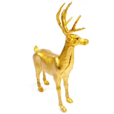 Гаджет   Exquisite Christmas Gadget Desk Ornaments Golden Plated Deer Birthday Party Ball Performance Festival Supplies Unique Gift