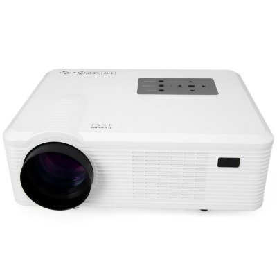 Гаджет   CL740 Multimedia 2400LM 800 x 480 Pixels LED Projector with Analog TV Interface Support 1080P  -  UK Plug Projector