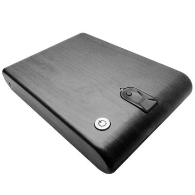UDBS2718 Exquisite Mini Fingerprint Safe Security Box Home Gadget Household Supplies Unique GiftHome Gadgets<br>UDBS2718 Exquisite Mini Fingerprint Safe Security Box Home Gadget Household Supplies Unique Gift<br><br>Type: Practical<br>For: All<br>Material: Metal<br>Occasion: Home, Office, School<br>Powered by: 4 x AA battery or external power supply ( not included )<br>Color: Black<br>Product weight   : 1.30 kg<br>Package weight   : 2.53 kg<br>Product size (L x W x H)   : 26.0 x 17.3 x 4.5 cm / 10.2 x 6.8 x 1.8 inches<br>Package size (L x W x H)  : 37 x 26 x 16 cm<br>Package contents: 1 x Safe, 1 x Wire, 2 x Key, 1 x User Manual