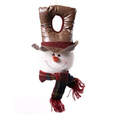 Гаджет   Popular Door Adornment Snowman Pendant Toy Christmas Gadgets Xmas Ball Performance Festival Scene Layout Supplies Wall Showcase Decors Unique Gift Christmas Supplies
