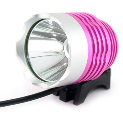 Durable Cree XML T6 1200 Lumens 3 Modes 18650 LED Headlight for Caving Cycling