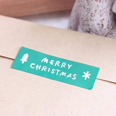 12Pcs Exquisite Sealing Sticker Christmas Bags Xmas Gift Pack Decors Home Office Supplies