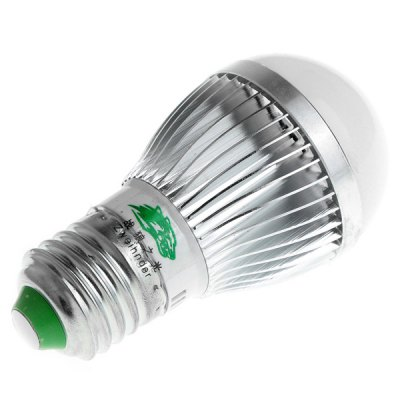 Zweihnder E27 5W 450 Lumens SMD - 5730 10 LEDs Warm White Globe Light (Silver)