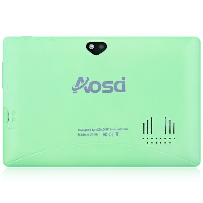 AOSD Q88D - G Android 4.4 Tablet PC with 7 inch WVGA Screen A23 Dual Core 1.5GHz Cameras WiFi 4GB ROM