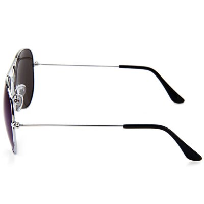 Fashionable Retro UV400 Sunglasses PC Eyewear Metal  Frame Eyes Protector Outdoor Leisure NecessitiesStylish Sunglasses<br>Fashionable Retro UV400 Sunglasses PC Eyewear Metal  Frame Eyes Protector Outdoor Leisure Necessities<br><br>Anti-UV level: UV400<br>Color: Green,Purple,Tea-color,Silver<br>Earstems length: 13.3 cm / 5.2 inches<br>Frame Color: Black,Asymptotic tea-color,Silver<br>Frame material: Metal<br>Gender: Unisex<br>Glasses width: 5.0 cm / 2.0 inches<br>Lens Color: Green,Purple,Tea-color,Silver<br>Lens material: PC<br>Nose bridge width: 2.4 cm / 0.9 inches<br>Package Contents: 1 x Sunglasses<br>Package size (L x W x H): 16.00 x 7.00 x 6.00 cm / 6.3 x 2.76 x 2.36 inches<br>Package weight: 0.100 kg<br>Product size (L x W x H): 14.50 x 13.50 x 5.00 cm / 5.71 x 5.31 x 1.97 inches<br>Product weight: 0.021 kg<br>Type: Sunglasses