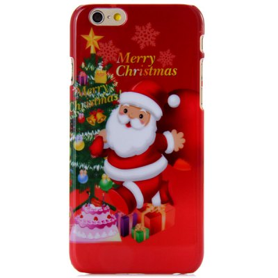 Fashionable PC Material Santa Claus Pattern Back Cover Case for iPhone 6  -  4.7 inchesiPhone Cases/Covers<br>Fashionable PC Material Santa Claus Pattern Back Cover Case for iPhone 6  -  4.7 inches<br><br>Compatible for Apple: iPhone 6<br>Features: Back Cover<br>Material: Plastic<br>Style: Special Design<br>Color: Red<br>Product weight : 0.015 kg<br>Package weight : 0.080 kg<br>Product size (L x W x H): 13.8 x 6.8 x 0.7 cm / 5.4 x 2.7 x 0.3 inches<br>Package size (L x W x H) : 16 x 9 x 2 cm<br>Package contents: 1 x Case