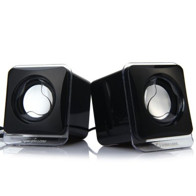 SL - 203 Fashionable Practical USB Powered Music Digital Speaker Sound