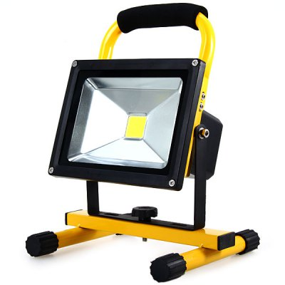 Ultra Bright 20W LED Floodlight Waterproof Outdoor Spot Lamp  -  White Light