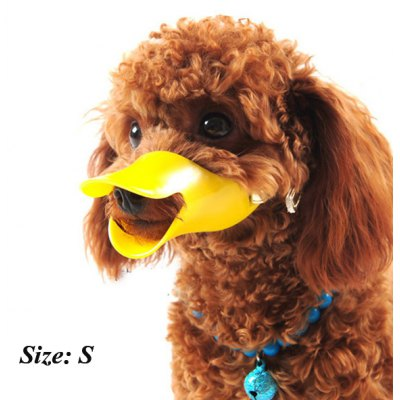 Duckbill Dog Anti-biting Sleeve Pet Mask Adjustable Muzzle