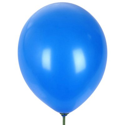 20 PCs Decorative 12 Inches Blue Round Latex Balloon for Party Festival Wedding