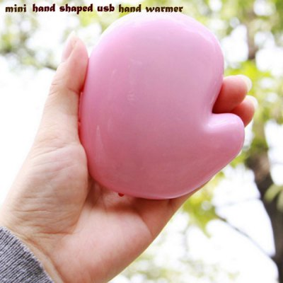 Mini Hands Shape Portable USB Rechargeable Hand Warmer