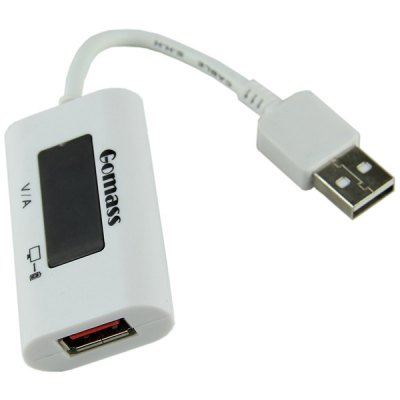 Гаджет   High Performance LCD Display USB Charging Head with Voltage Current Detector for Computer USB Gadgets