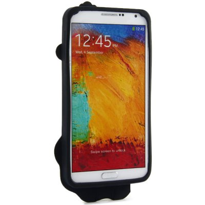 ФОТО High Quality Lion Pattern Silicone Material Back Cover Case for Samsung Galaxy Note3 N9000