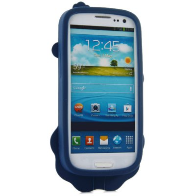 ФОТО High Quality Lion Pattern Silicone Material Back Cover Case for Samsung Galaxy S3 i9300