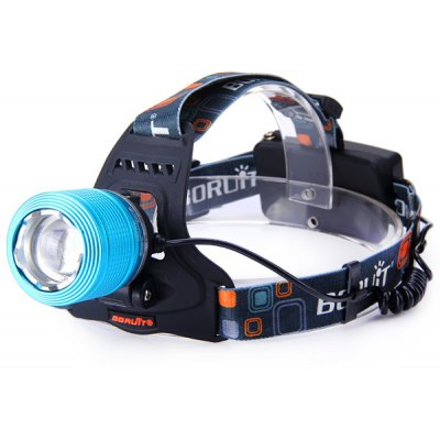 Boruit 600 Lumens Cree XM - L T6 Zoomable LED Headlight ...