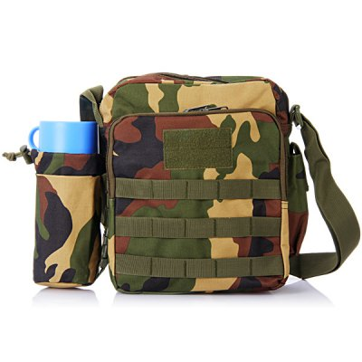 Гаджет   Durable Water Bottle Single Shoulder Bag Cross Body Sundries Pack Travel Camping Cycling Hiking Accessories Sling Bag