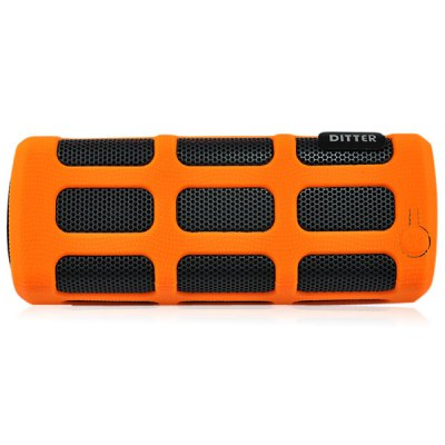DITTER S33 Water Resistant Wireless Bluetooth Speaker + 7000mAh Charge