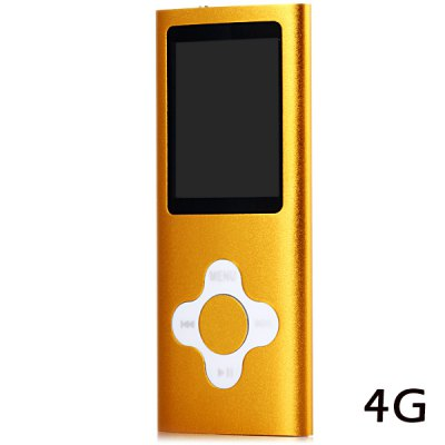 Fashionable Style Digital Screen MP4 Player with 4G Memory