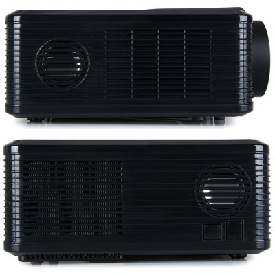 Excelvan CL720 LED Projector with Analog TV Interface - ExcelvanProjectors<br>Excelvan CL720 LED Projector with Analog TV Interface<br><br>Brand: Excelvan<br>Model: CL720<br>Color: Black, White<br>Material: Plastic, Glass<br>Display Type: LCD<br>Native Resolution: 1280 x 800<br>Aspect Ratio : 4:3 / 16:9<br>Resolution Support: 1080P<br>Brightness: 3000 Lumens<br>Contrast Ratio: 2000:1<br>Lamp Life: 50000 hours<br>Lens : Manual Focus<br>Image Scale: 4:3, 16:9<br>Image Size: 72 - 200 inch<br>Power Supply: 90-240V/50-60Hz<br>Lamp: LED<br>Lamp Power: 150W<br>Interface: TV, AV<br>Other Features: Built-in Speaker (5W x 2)<br>Product Weight: 3.3 kg<br>Package Weight: 4.5 kg<br>Product Size (L x W x H): 32.0 x 25.5 x 11.5 cm / 12.6 x 10.0 x 4.5 inches<br>Package Size (L x W x H): 38.5 x 18.2 x 33.8 cm<br>Package Contents: 1 x Projector, 1 x Remote Controller, 1 x Adapter, 1 x AV Cable, 1 x VGA Cable, 1 x Fuse, 1 x Lens Cloth, 1 x User Manual