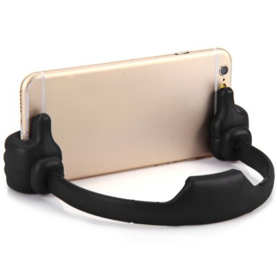 Fashionable Hand Shape Clip Phone Stand Flexible HolderStands &amp; Holders<br>Fashionable Hand Shape Clip Phone Stand Flexible Holder<br><br>Compatibility: iPhone 3GS, Tablet PC, Samsung, Sony, iPhone 4, HTC, iPhone 4S, Blackberry, iPhone 5, Nokia, iPhone3G, iPad<br>Type: Clip Stand<br>Material: Tpu, Plastic<br>Color: Black, White, Pink, Blue, Green<br>Product weight: 0.060 kg<br>Package weight: 0.120 kg<br>Product size (L x W x H) : 11.5 x 9.4 x 4.5 cm / 4.5 x 3.7 x 1.8 inches<br>Package size (L x W x H): 14 x 11 x 6 cm<br>Package Contents: 1 x Stand