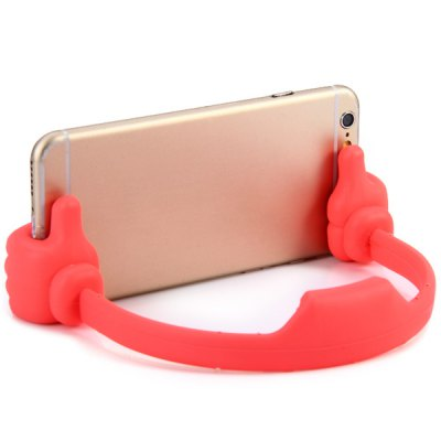 Fashionable Hand Shape Clip Phone Stand Flexible Holder