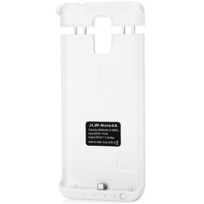 ФОТО Practical 3800mAh Power Bank Protective Case Backup Charger Holder with Indicator Light for Samsung Galaxy Note4 N9100