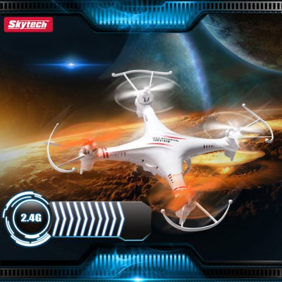 Skytech M62R Quadcopter 4 Channel 6 Axis 2.4GHz Copter with 0.3MP Camera Video Recording