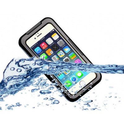 Protective IP  -  68 Waterproot Full Body Case with Lanyard for iPhone 6  -  4.7 inches