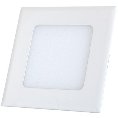 PBS4W 4W 320Lm 6500K Super Bright Square 20 LEDs Panel Light AC 85 - 265V