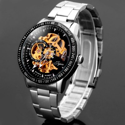 Jijia 8010 Automatic Mechanical Male Watch