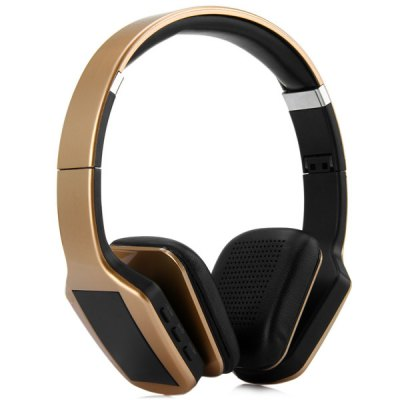 NK-S650 Digital Screen MP3 Wireless Headphones with FM Radio 3.5mm Jack Line-in Interface for Smartphone Tablet PC